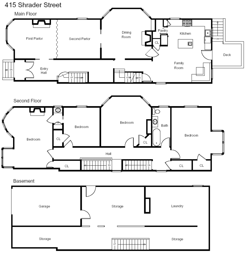 ianberke com san francisco real estate featuring floor plans amp scale plans