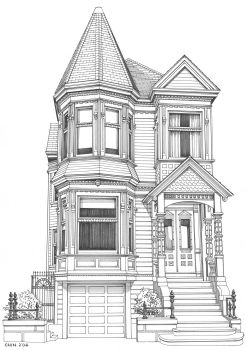 Ianberkecom San Francisco real estate featuring Victorian and