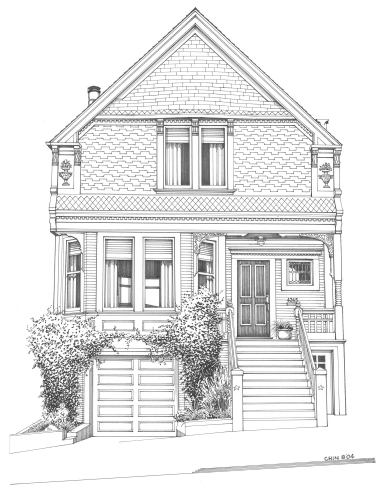 Ianberke San Francisco real estate featuring Victorian and