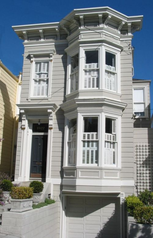 Architectural styles of san francisco for Best homes in san francisco