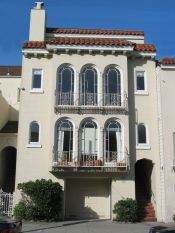 Architectural styles of san francisco for Mediterranean architecture features